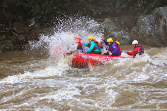 Photo: Sherpa delivering  up whitewater action