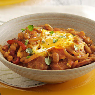 Mexican Beans and Eggs