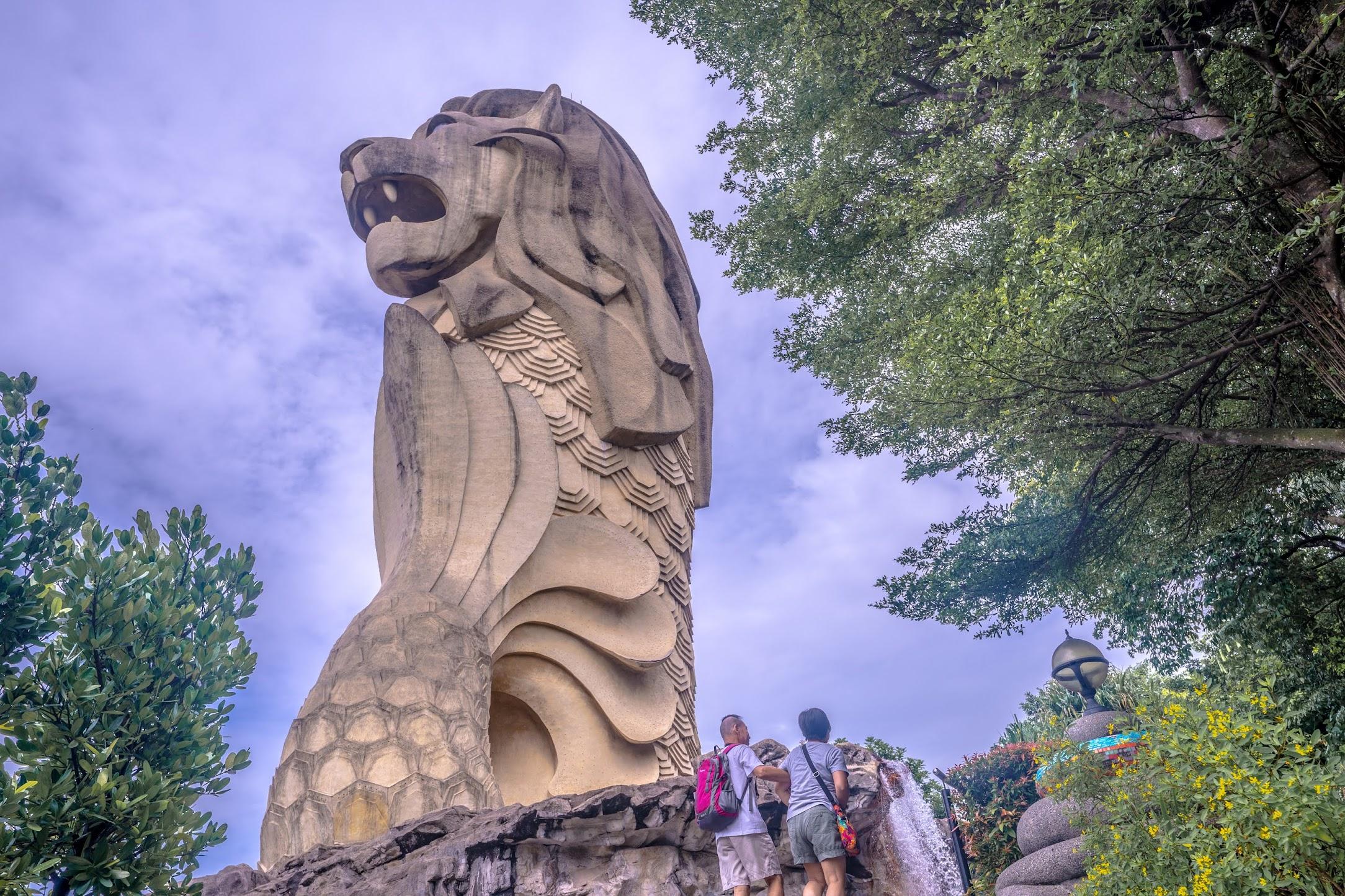 Singapore Sentosa Merlion3
