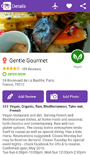 HappyCow - Find vegan restaurants FULL- screenshot thumbnail