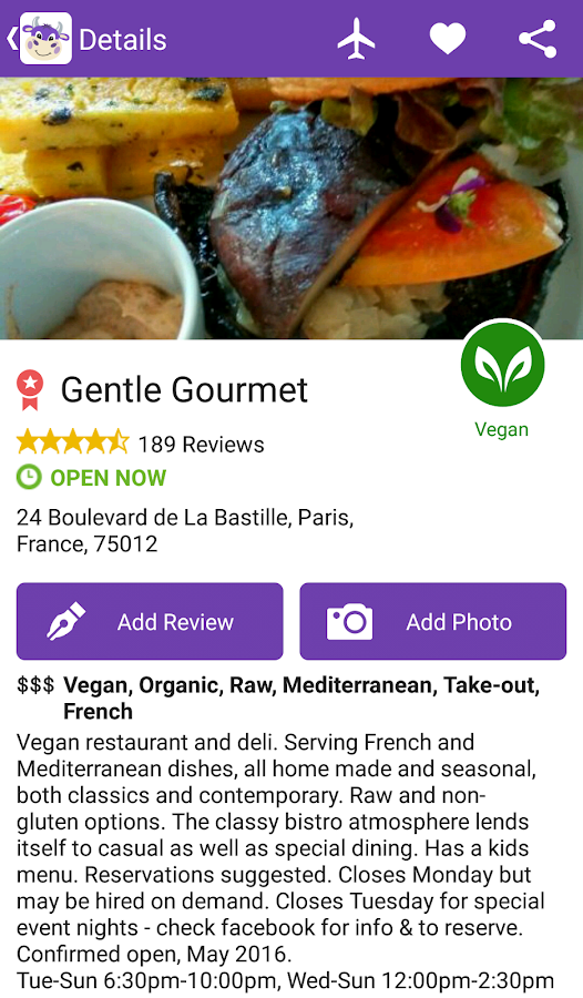 HappyCow - Find vegan restaurants FULL- screenshot
