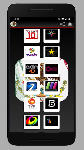 Screenshot for Tv y Radio Mexico Televisión Méxicana in United States Play Store
