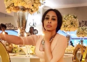 Khanyi Mbau is a complete daddy's girl.
