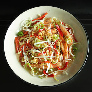 Steamed Prawn with Chili and Garlic.