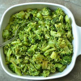 Buttery Lemon Pepper Broccoli.