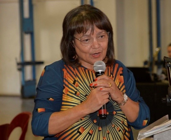 Cape Town mayor Patricia de Lille at an event in Athlone on October 24 2018.