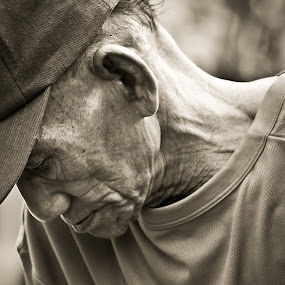The Wrinkles by Curly Yanni - People Portraits of Men ( wrinkles old man )