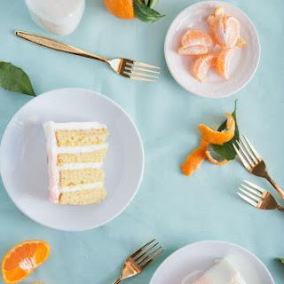 Orange Sherbet Cake Recipe