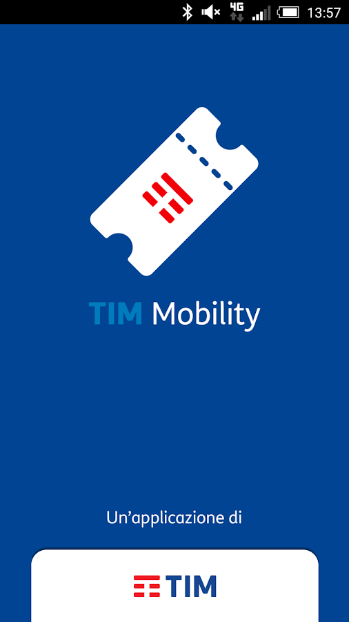 TIM Mobility- screenshot