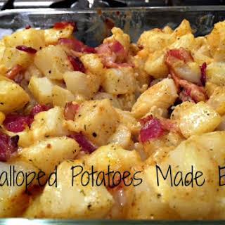 Scalloped Potatoes made easy.