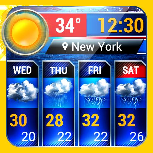 Weather report app& widget