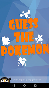 Guess The Pokemon Name - Shadow Quiz - náhled
