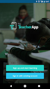 TheTeacherApp- screenshot thumbnail