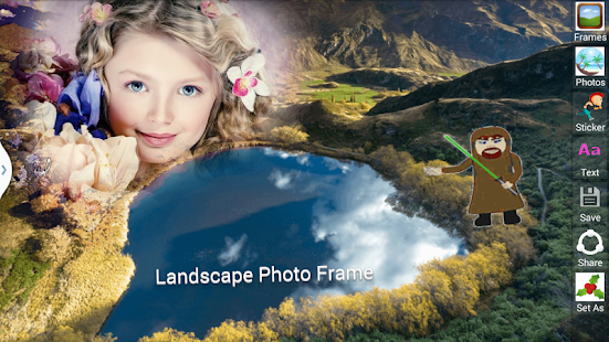 Landscape Photo Frame.Free Photo Frames. - náhled