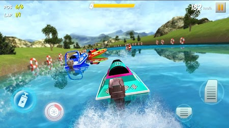 Powerboat Race 3D APK screenshot thumbnail 1