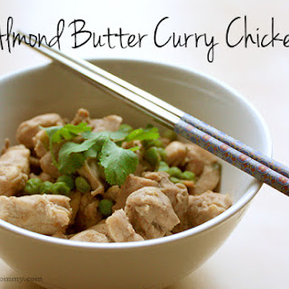 Almond Butter Curry Chicken.