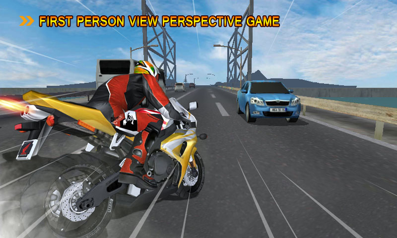 Screenshots of Motorcycle Driving for iPhone