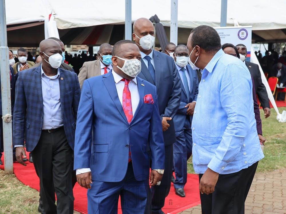 You have frustrated me, Sonko tells Uhuru