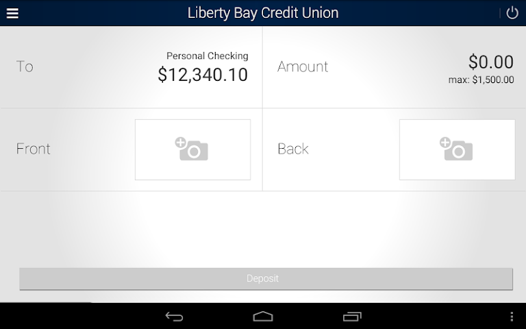 android Liberty Bay Credit Union Screenshot 9