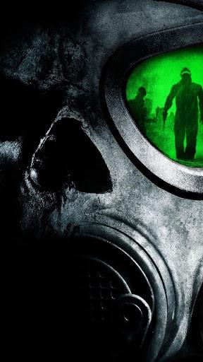 Gas mask.Live wallpaper