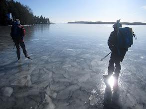 Photo: 002 Sommen, bijzondere ijsstructuur