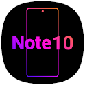 Note10 Launcher -Galaxy Note8/Note9/Note10 launche icon