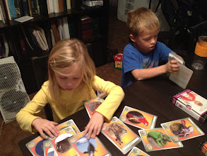 Photo: The kids were so excited to get the package open!