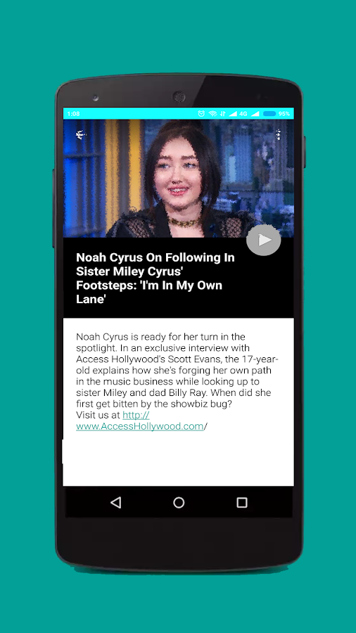 Noah Cyrus Songs and Videos - Android Apps on Google Play