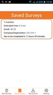 QuarterSurvey- screenshot thumbnail