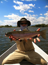Photo: Nice Rainbow on the Madison- Mad River Outfitters Montana Trip