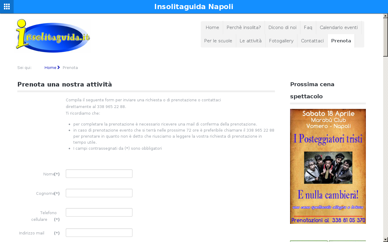 Insolitaguida Napoli- screenshot