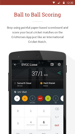 CricHeroes - The Ultimate Cricket Scoring App 3.9 screenshots 1