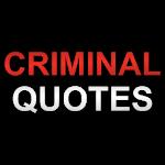 Criminal Quotes Icon