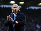 Grappig moment op de persconferentie na de eerste finalematch tussen Beerschot Wilrijk en Cercle Brugge