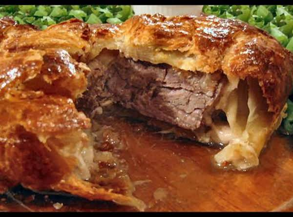 Filet De Boeuf En Croute (filet Mignon In Puff Pastry) Recipe