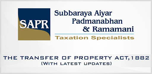 Transfer Of Property Act 1882 Pdf
