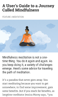 Mindful - náhled
