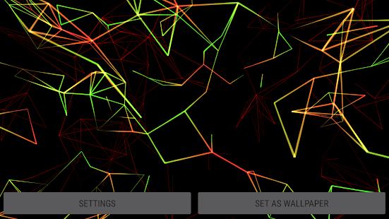 [Neon Particles 3D Live Wallpaper] Screenshot 24