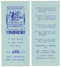 Photo: Galloway & Porter Books