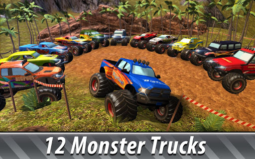 Monster Truck Offroad Rally 3D screenshot 2