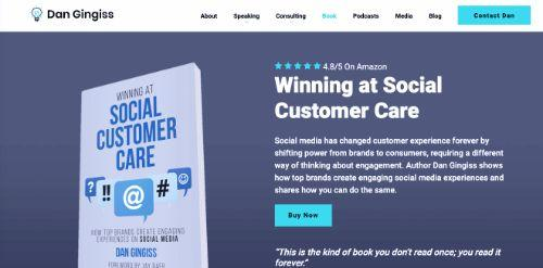 Winning at Social Customer Care (Dan Gingiss)