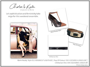 Photo: Let sophistication and femininity take reign for this weekend ensemble  Visit your nearest store or CharlesKeith.com to find out more