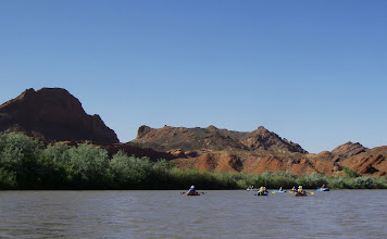Photo: Floating by the Mule Ear.