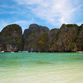 Phi Phi Island, Thailand by Won Yee Ong - Landscapes Beaches ( phi phi island )