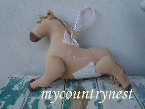 Photo: cavallo tilda in panno