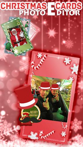 照片編輯器的聖誕節