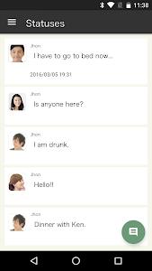 leaves:Friends,Matching,SNS screenshot 3