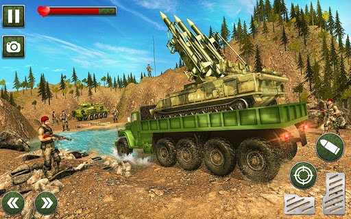 US Army Missile Attack : Army Truck Driving Games 1.2.6 screenshots 7