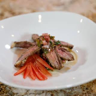 Chef Thia's Churrasco Steak.
