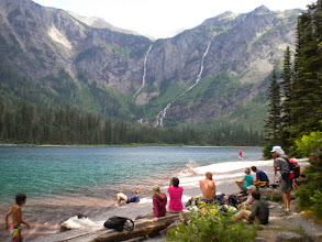 Photo: Some Beach (at Avalanche Lake)